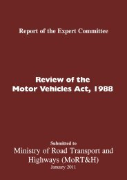 Committee report - India Environment Portal