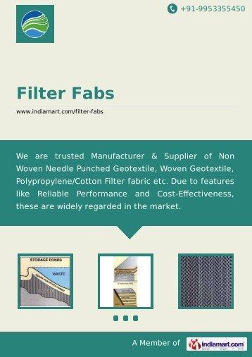 Filter Fabs, New Delhi - Supplier & Manufacturer of ... - IndiaMART