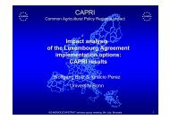 Impact analysis of the Luxembourg Agreement implementation options