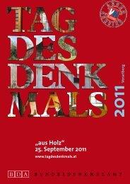 """aus Holz"" 25. September 2011"