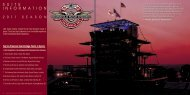 """""""Green Monster"""" Section - Indianapolis Motor Speedway"""
