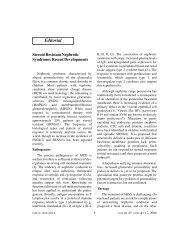 Steroid resistant nephrotic syndrome: Recent developments - medIND