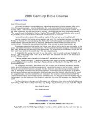 15. From Sabbath to Sunday - of Riverview Seventh-day Adventist ...