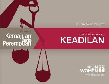 KEADILAN - Progress of the World's Women