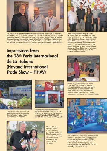 Impressions from the 28th Feria Internacional de La Habana ...