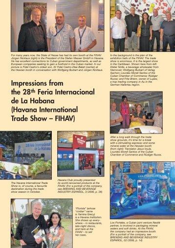 Impressions from the 28th Feria Internacional de La Habana ...