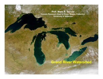 Mark Servos - Grand River Conservation Authority