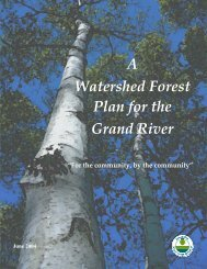 Adobe PDF format - 146 Pages - Grand River Conservation Authority