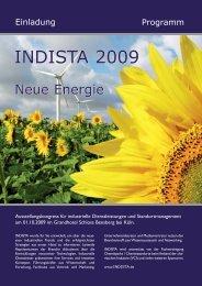 Programm - INDISTA