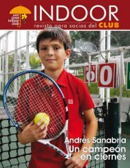 Agosto - San José Indoor Club