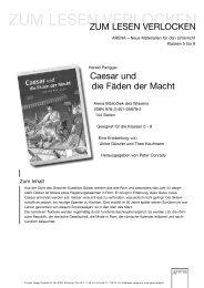 Caesar und die Fäden der Macht - ARENA Verlag