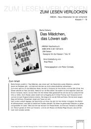 ue_das maedchen das loewen sah.qxp - ARENA Verlag