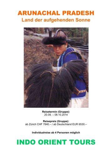 ARUNACHAL PRADESH - Indo Orient Tours