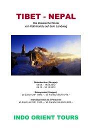 TIBET - NEPAL - Indo Orient Tours