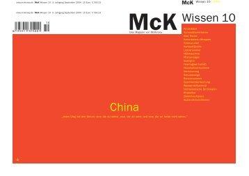 Mck Wissen | China - Brand Eins
