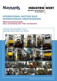 international auction sale internationale versteigerung