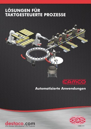 CAMCO Brochure Indexing Solutions GER AK2_Layout 1 - De-Sta-Co