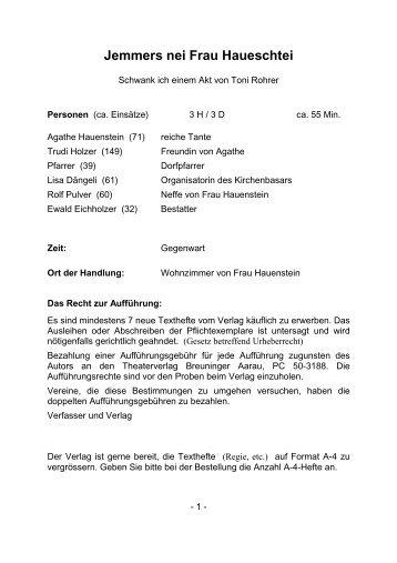 A0971 Jemmers nei Frau Haueschtei - Breuninger