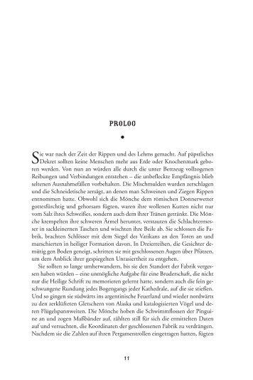 Prolog Menschen aus Papier - Edition Nautilus