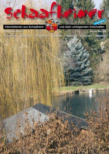 schaafheim - bei der Druckerei Reichert