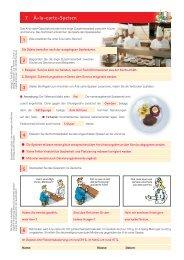 7 À-la-carte-Speisen 1 2 3 4 5 6 - Verlag Handwerk und Technik