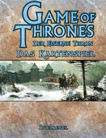 Der Eiserne Thron - Das Kartenspiel - Heidelberger Spieleverlag