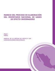 Manejo del Proceso de Elaboración del Inventario Nacional de GEI
