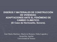 Propuesta de adaptación de diseños y materiales de construcción ...
