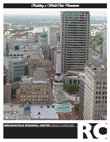 REGIonal CEnTER DESIGN GUIDELINES - City of Indianapolis