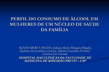 perfil do consumo de àlcool em mulheres de um núcleo ... - INEBRIA