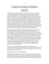 New Religious Movements as Challenge for the ... - Katholisch.de