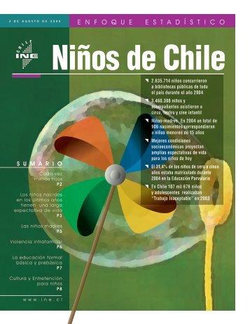Niños de Chile - Estudios