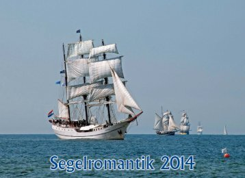 Segelromantik 2014 - PRINTAS Kalenderverlag GmbH
