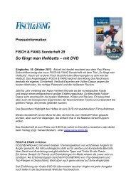 Sonderheft Heilbutt - Paul Parey Zeitschriftenverlag