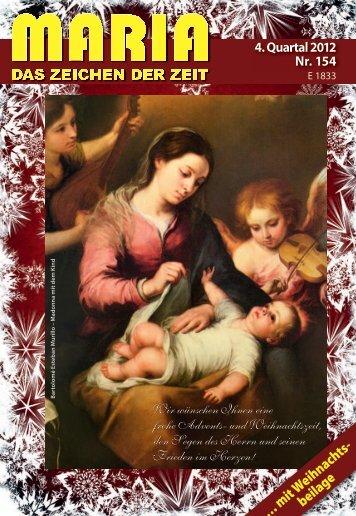 … mit Weihnachts- beilage - Miriam-Verlag