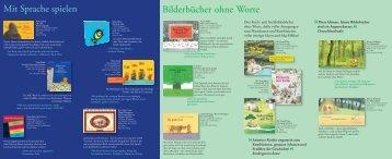 Bilderbücher ohne Worte Mit Sprache spielen - Moritz Verlag
