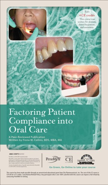 Factoring Patient Compliance into Oral Care - IneedCE.com
