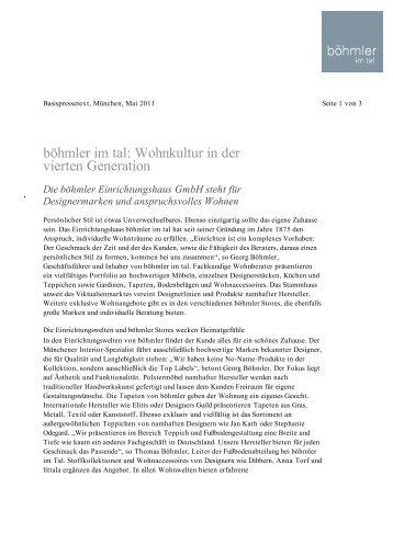 Böhmler Im Tal München poliform varenna exklusiv in münchen bei böhmler im tal