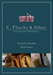 Astoria - C. Flasche & Söhne Polstermöbel-Manufaktur