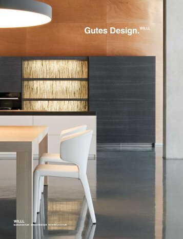 Gutes Design.WILLL - Johann Will GmbH