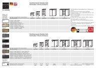 Typenplan von MOON ART - CS Schmal