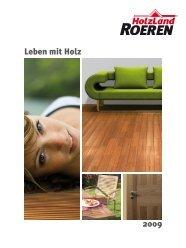Leben mit Holz 2009 - HolzLand Roeren