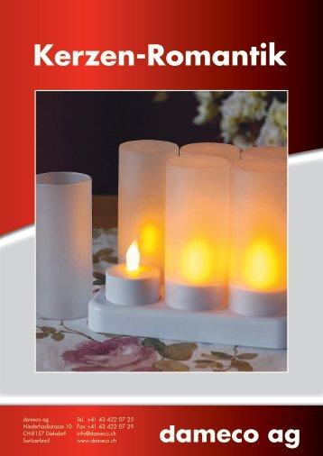 Kerzen-Romantik - dameco ag, preisgünstiger