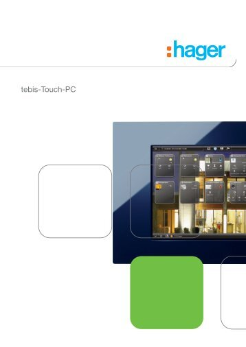 tebis-Touch-PC (PDF, 1,5 MB) - Hager