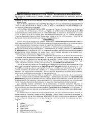 NORMA Oficial Mexicana NOM-005-STPS-1998, Relativa a las ...