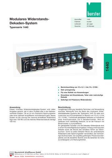 Komplettes Datenblatt Typ 1440_DE [PDF, 524 KB] - MTS ...