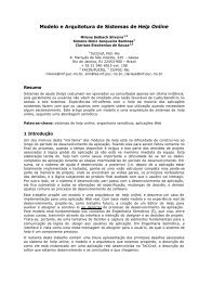 Modelo e Arquitetura de Sistemas de Help Online - PUC-Rio