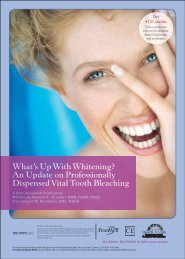 What's Up with Whitening? - IneedCE.com