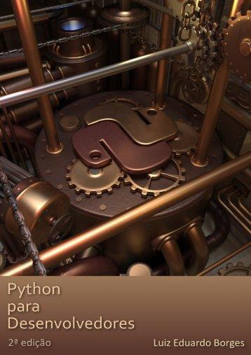 Python para desenvolvedores 2ª edição (formato PDF) - ark 4 n