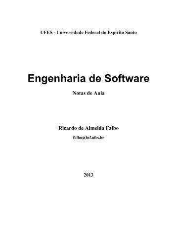 Notas de Aula - Engenharia de Software -v2012 - Departamento de ...